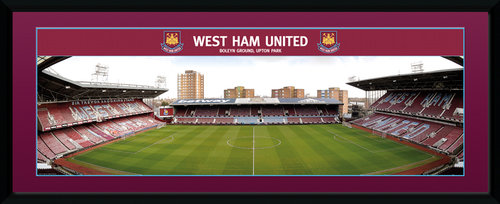 West Ham Boleyn Ground Framed Collector Print