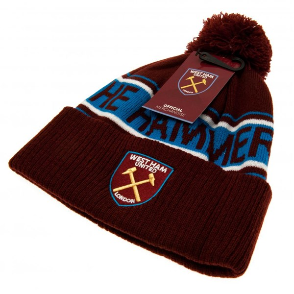 West Ham United F.C. Ski Hat