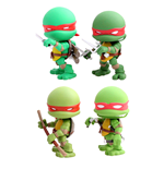 Teenage Mutant Ninja Turtles Action Vinyl Figures 4-Pack Original Comic 8 cm