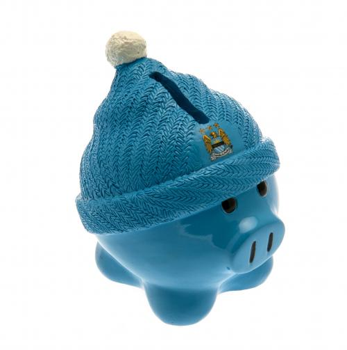 Manchester City F.C. Beanie Piggy Bank