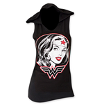 WONDER WOMAN Hooded Tank Top