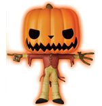 Nightmare Before Christmas POP! Disney Vinyl Figure GITD Pumpkin King Limited 9 cm