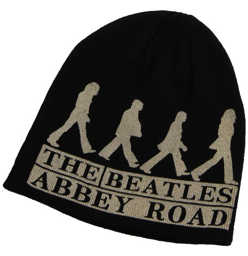 Beatles Beanie - Abbey Road Black