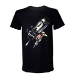 ASSASSIN'S CREED IV Black Flag Adult Male Hidden Blade T-Shirt, Large, Black