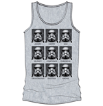 Star Wars Tank Top Faces