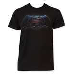 BATMAN v Superman Men's Black Tee Shirt