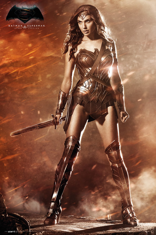 Batman Vs Superman Wonder Woman Maxi Poster