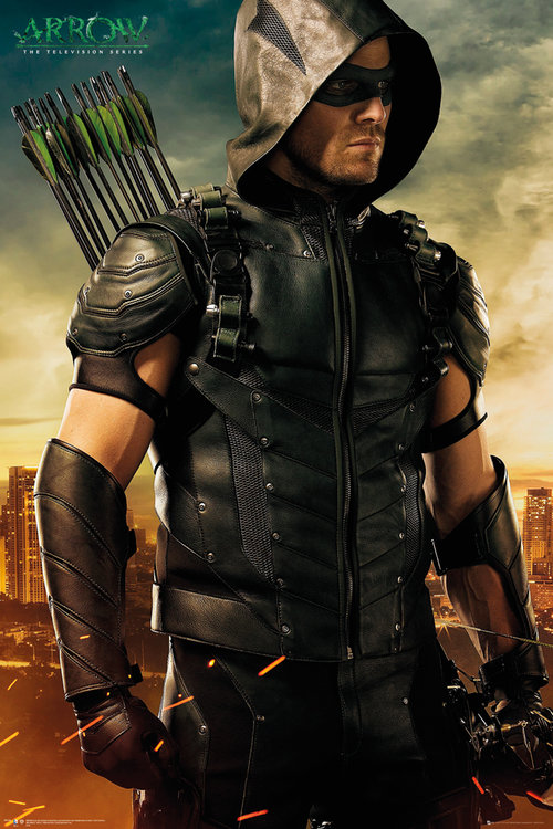 Arrow Arrows Maxi Poster