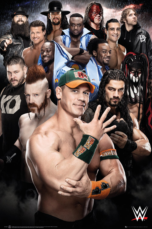 WWE Superstars 2016 Maxi Poster