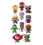 Marvel Comics Keychains 4 cm Series 1 Display (24)