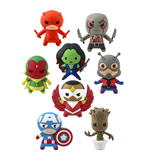 Marvel Comics Keychains 4 cm Series 2 Display (24)