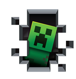 Minecraft Wall Cling Creeper Inside Wall
