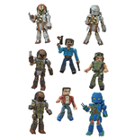 Predator Minimates Action Figures 5 cm Blind Bags Series 1 Display (18)