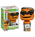 Sesame Street POP! TV Vinyl Figure Oscar Orange Limited Edition 9 cm