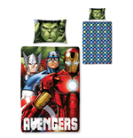 The Avengers Duvet Set Reversible Shield 135 x 200 cm / 48 x 74 cm