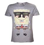 Sponge Bob T-shirt  - Grey Sunglasses