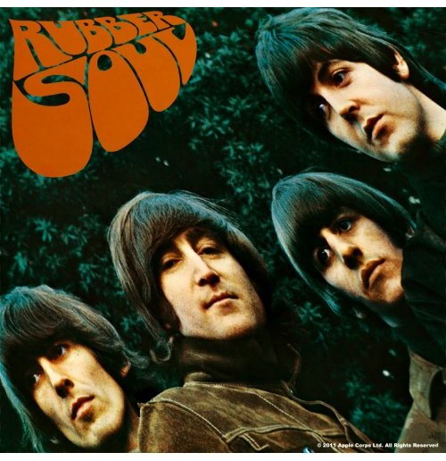 Beatles Coaster - Rubber Soul Album