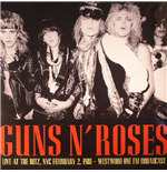 Vynil Guns N' Roses - It's So Easy: Live At The Ritz 1988 Fm Broadcast