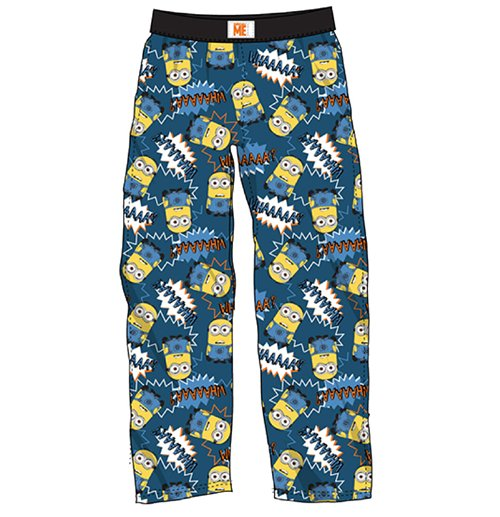 bc21b6845e43 Official Despicable Me Lounge Pants Minions Whaaa  Buy Online on Offer