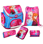 Frozen 5-Piece School Bag Set Anna & Elsa
