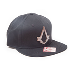 ASSASSIN'S CREED Syndicate Unisex Bronze Brotherhood Crest Snapback Baseball Cap, One Size, Black