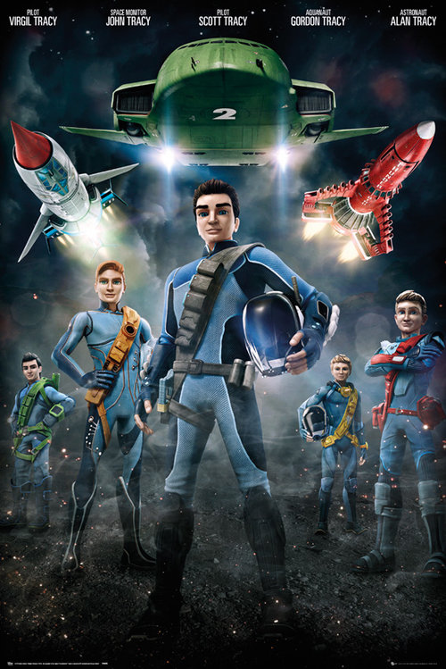 Thunderbirds are Go Group Maxi Poster