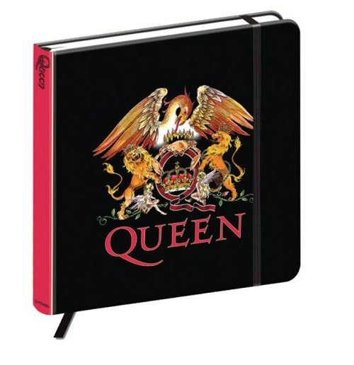 Queen Notebook - Crest