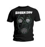 Green Day Men's Tee: Green Mask