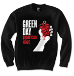 Green Day Men's Sweatshirt: American Idiot