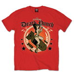 Five Finger Death Punch Men's Tee: Bomber Girl