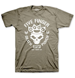Five Finger Death Punch Men's Tee: Knucklehead