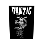 Danzig Back Patch: 18 Beast