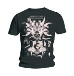 Bring me the Horizon Men's Tee: Skull & Bones