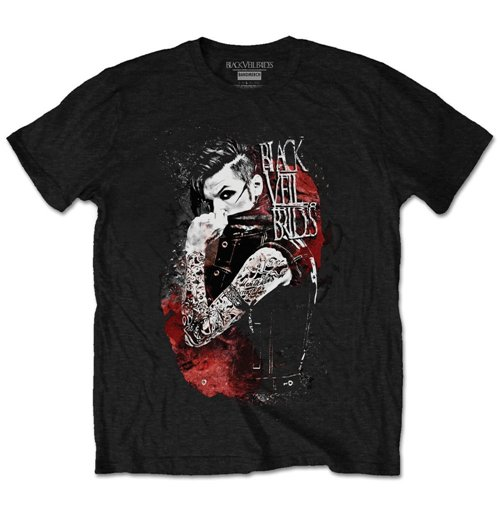 Black Veil Brides Men's Tee: Bride's Inferno