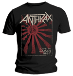 Anthrax Men's Tee: Live in Japan