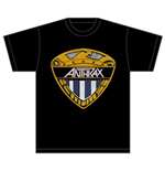 Anthrax Men's Tee: Eagle Shield