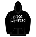 Alice Cooper Men's Hooded Top: Eyes Logo