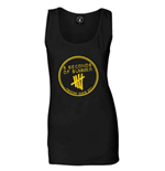 5 Seconds of Summer Women's Vest Tee: Derping Stamp