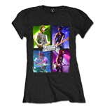 5 Seconds of Summer Women's Tee: Live in Colours