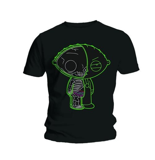 Family Guy Men's Tee: Stewie X-ray