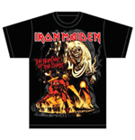 Iron Maiden Men's Tee: Number of the Beast Graphic