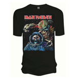 Iron Maiden Men's Tee: Final Frontier Album