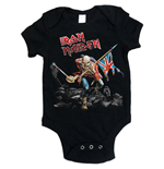 Iron Maiden Baby Grow: Trooper