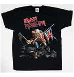 Iron Maiden Youth's Tee: Trooper