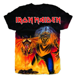Iron Maiden Men's Sublimation Tee: Number of the Beast