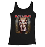 Iron Maiden Men's Vest Tee: Eddie Candle Finger