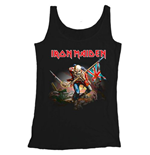Iron Maiden Men's Vest Tee: Trooper