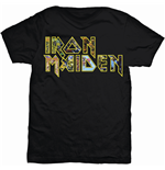 Iron Maiden Men's Tee: Eddie Logo