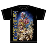 Iron Maiden Men's Tee: Somewhere Back in Time
