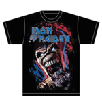 Iron Maiden Men's Tee: Wildest Dream Vortex